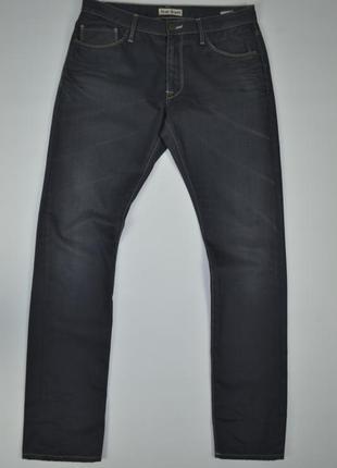 Acne hug jeans мужские черные серые джинсы оригинал размер 30х32