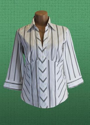 Строгая, но очаровательная рубашка большого размера 50-52 (uk16).