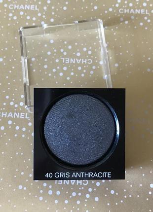 Chanel пудровые тени ombre premiere 40 gris anthracite тестер
