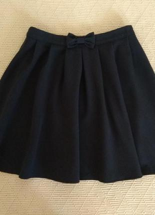 Школьная юбка george на девочку 8-9 лет
