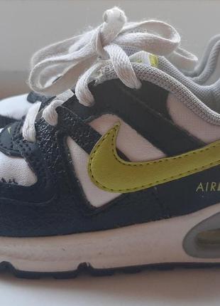 Фирменные кожаные кроссовки nike airmax (original).