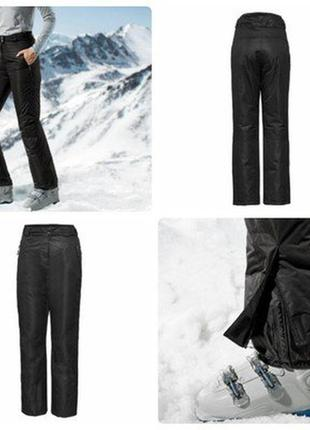 Зимние лыжные термо брюки на тинсулейте штаны crivit