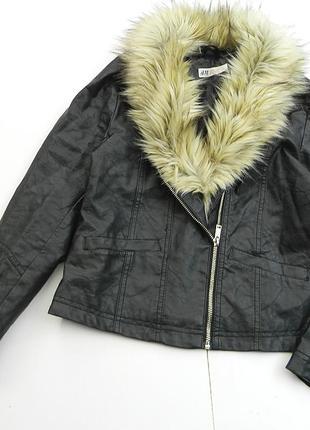Курточка с воротником