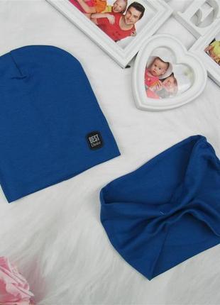Комплект с шапочки и хомута