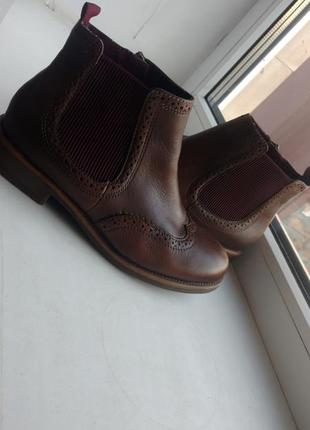 Сапожки , ботинки оригинальные бренда tamaris. покупала за 1800 .7 фото