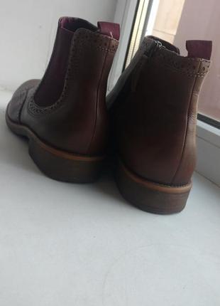 Сапожки , ботинки оригинальные бренда tamaris. покупала за 1800 .8 фото