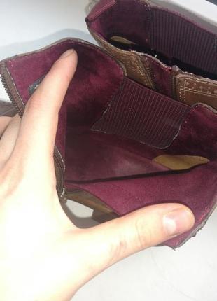 Сапожки , ботинки оригинальные бренда tamaris. покупала за 1800 .9 фото