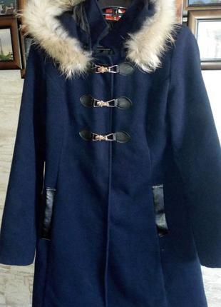 Итальянское пальто дафлкот р.s-m