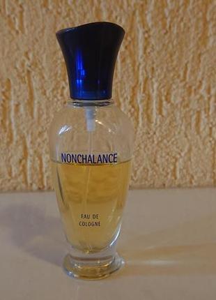 Nonchalance  eau de gologne. 30 мл. духи франция. винтаж. 80%.