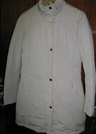 Пальто-куртка пуховик geox respira