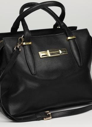 Фирменная итальянская кожаная сумка