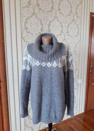 Английская альпака +шерсть 👍🏻шикарный супермягкий джемпер свитер кофта