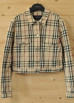 Жіноча куртка burberry london - uk 10 - us 8
