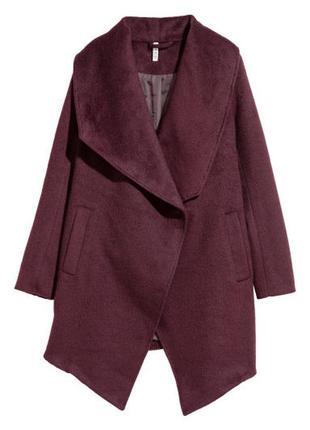 Двубортовое пальто h&m новое р.42 (xl)