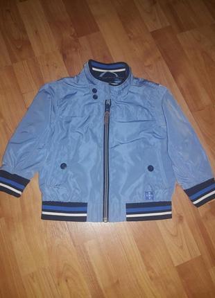 Sale🔥🔥стильная куртка ветровка на мальчика 1,5-2года