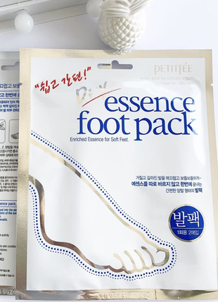 Маска для ног petitfee & koelf dry essence foot pack