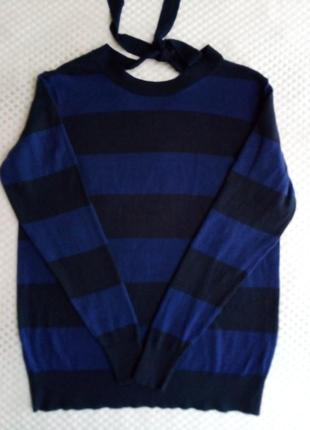 Blue motion, тоненький свитер на завязке.