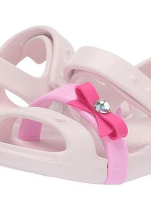 Босоножки сандали крокс crocs keeley charm sandal
