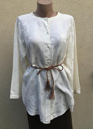 Винтаж,шелк100,блуза,туника,рубаха в бельевом стиле,люкс бренд