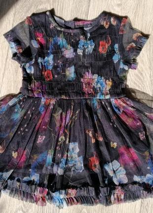 Нарядное праздничное платье next