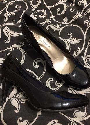 M&s marks & spencer лакированные туфли