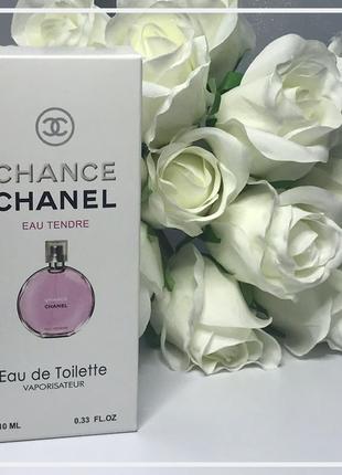 💫 женский мини парфюм chanel chance eau tendre 10мл