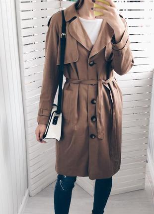 Шикарный новый тренч пальто