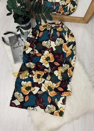 Плаття в квітковий принт від tu🖤🖤🖤