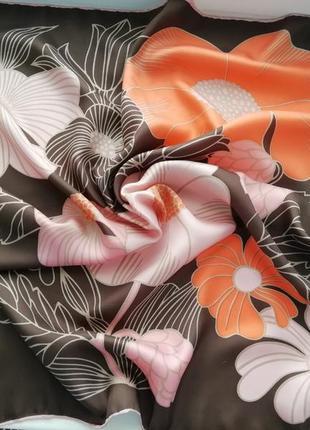 Оригінальний шовковий платок італійського бренду thirkell!!! оригінал!!!