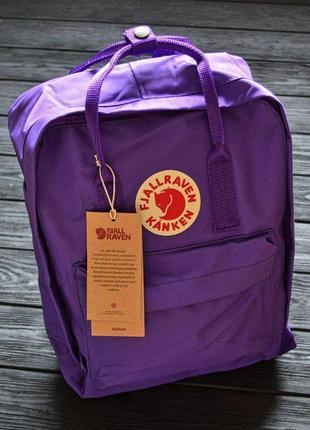 Рюкзак fjällräven kanken classic фиолетовый