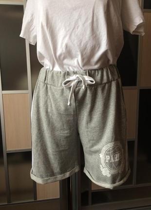 Хлопковые шорты для спорта и дома