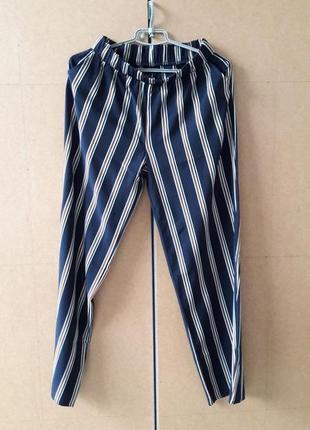 Костюм комплект пиджак штаны брюки полоска м