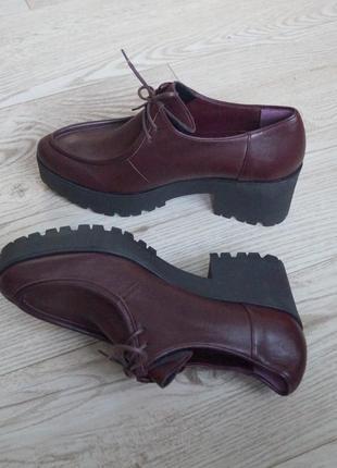 Стильные туфли ботиночки лоферы avril gau. натуральная кожа
