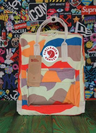 Рюкзак fjällräven kanken classic разноцветный камуфляж