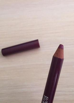 Lip liner longlasting jessica cosmetics .фіолетово-бордовий олівець для губ)