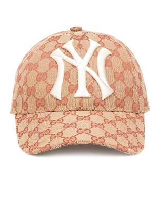 Кепка бейсболка gucci yankees