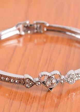 """Супер браслет """"любовь"""" с кристаллами"""