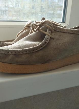Туфли,мокасины английского бренда burton!