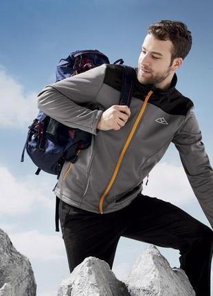 Мужская функциональная куртка crivit softshell евро 56-58