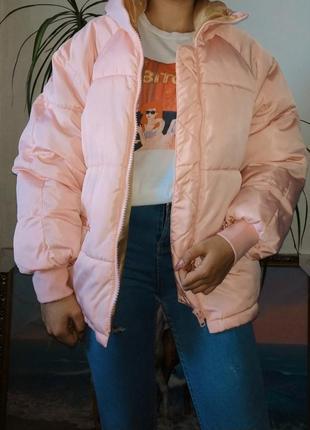 Дутая куртка, дутик, легкая зимняя куртка