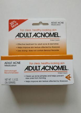 Крем от акне adult acnomel