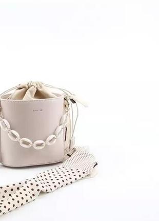 Екслюзивная сумочка ведро от бренда dioss