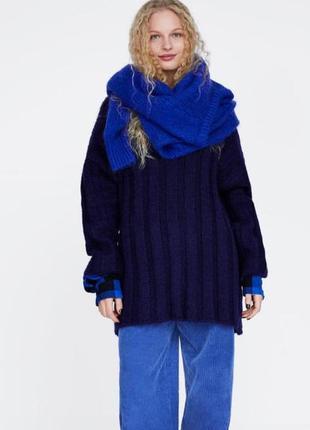 Свободный свитер -платье zara
