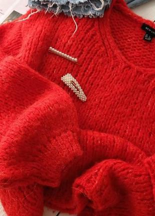 Шикарный шерстяной свитер оверсайз