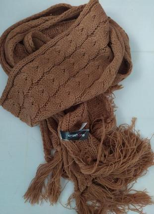 Тёплый длинный шарф от takko fashion германия