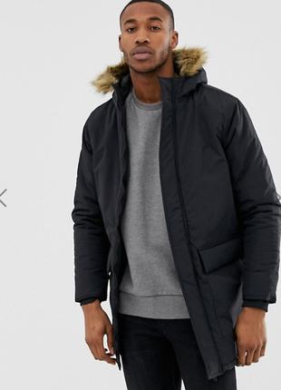 Зимняя куртка с капюшоном french connection