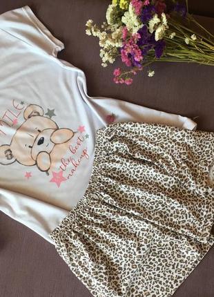 Милая пижамка с шортиками sul modas