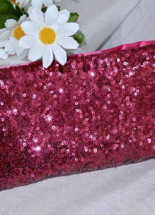 Брендовое бордовое вечернее платье миди cherlone паетки с клатчем5 фото