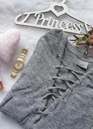 Кофточка с шнуровкой на груди vero moda