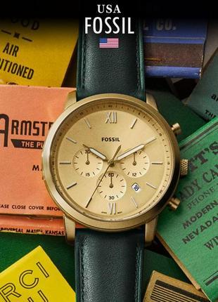 - 40% | мужские часы хронограф fossil neutra fs5580 (оригинальные, новые с биркой)